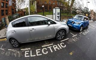 Londoners are much more interested in electric cars than the rest of Brits