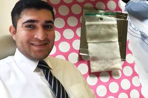package of 'cocaine' posted to home of unsuspecting derby law student