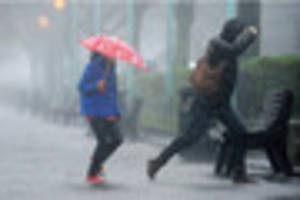 wet weather forecast for the rest of the week