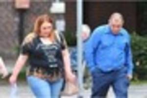 drunken sneyd green couple attacked neighbours after a row...