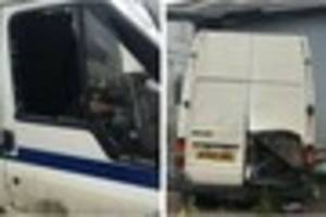 tiverton charity boss' anger after latest break-in sees transit...