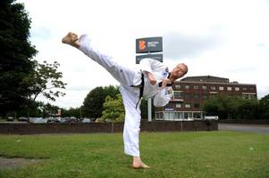 Inspirational martial arts leader is honoured by British Steel