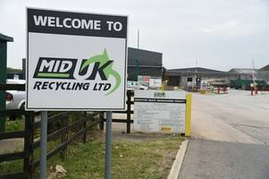 Recycling company pleads guilty to keeping waste that could harm health
