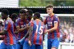 Dulwich Hamlet v Crystal Palace XI: Live updates as the Eagles...