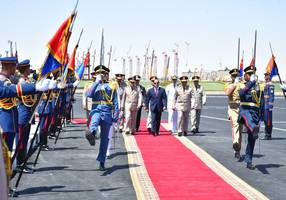 egypt opens monumental military base fit for a pharaoh