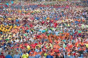 40,000 Boy Scouts Chant 'We Love Trump!' as President Speaks at 2017 National Jamboree