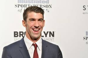 Michael Phelps Raced a Fake Shark and Still Lost