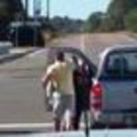 Road rage attack: Woman threw nails, chisel out window