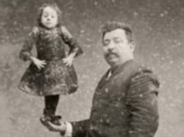 Fascinating images reveal stars of Victorian 'freak' shows