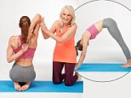 stretch away aches and pains with anti-ageing yoga