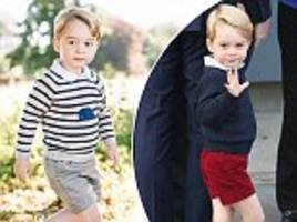 Why does Prince George always wear shorts