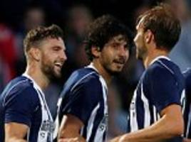 west brom seal two victories in one night