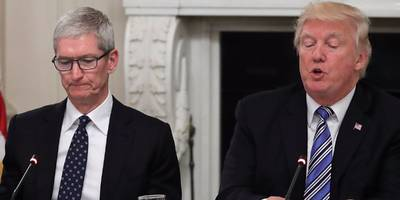 apple ceo tim cook speaks out against trump's 'discrimination' of transgender military service members