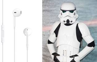 apple's iconic white earbuds were inspired by 'star wars' (aapl)