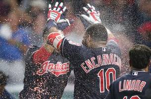 Edwin Encarnacion's slam sends Cleveland Indians past Los Angeles Angels 11-7 in extra innings
