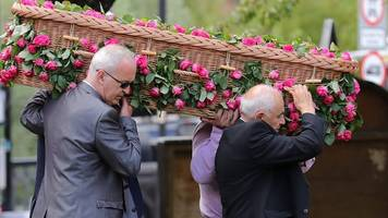 Funeral for youngest Manchester victim Saffie Roussos