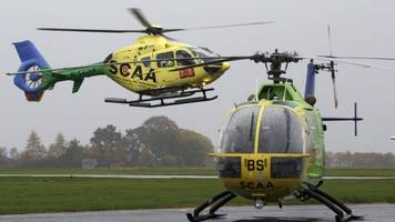 scotland's charity air ambulance in near miss with glider