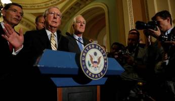senate chaos returns: six hours after major gop victory, repeal and replace is voted down