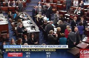 BREAKING: Senate Rejects Obamacare 'Straight Repeal' Proposal