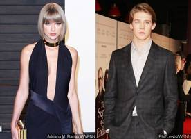 taylor swift and joe alwyn hide behind umbrella while heading to the gym