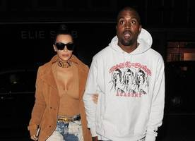 Does Kim Know? Kanye West Caught Leaving Studio With Nearly Naked Woman