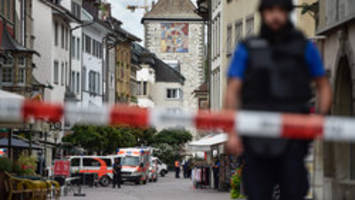 Swiss chainsaw attacker arrested carrying crossbows did not resist