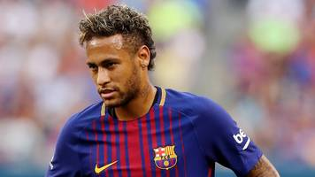 'it's just my intuition': pique thinks neymar will stay at barca