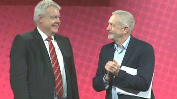 same brexit page for uk labour and jones, mcdonnell claims