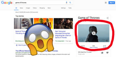 Google now blasts autoplay videos straight into your Search results