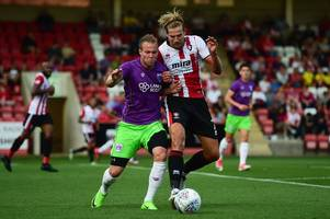 gustav engvall delights against cheltenham town and could have determined bristol city future