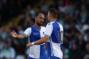 the three bristol rovers players who stood out in the victory against yeovil town