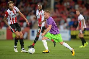 which of the young players stood out the most for bristol city in cheltenham town clash?