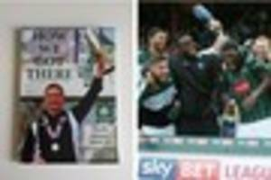 we reviewed plymouth argyle's latest book - 'how we got there:...