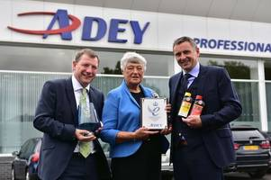 cheltenham's adey gets queen's award for helping boilers work more efficiently