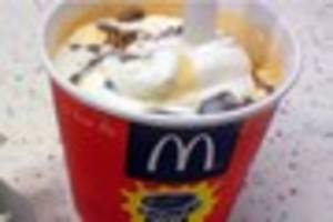 McDonald's ice cream machine's vile contents may put you off...