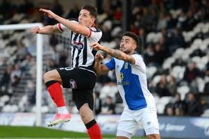 how did grimsby town's players rate in their 1-0 defeat to blackburn rovers?