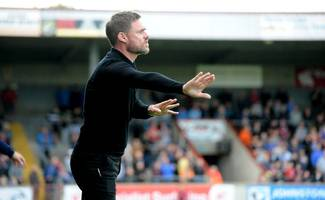 scunthorpe united manager graham alexander delighted with performance against sunderland