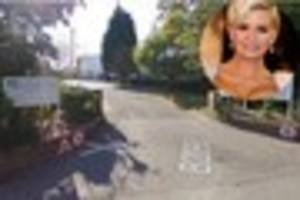kerry katona was fined for taking children out of uplands...