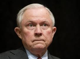 Supporters Stand Up For Attorney General Sessions As Trump Increases Attacks
