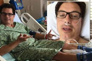 John Barrowman rushed to hospital for emergency surgery after collapsing in agony