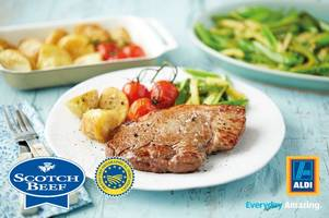 recipe: how to prepare the perfect specially selected aberdeen angus scotch rump steak with aldi