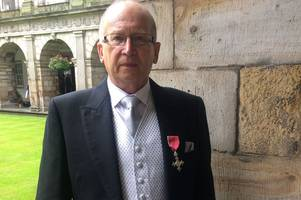 retired east kilbride teacher receives mbe for achievements over 30 years