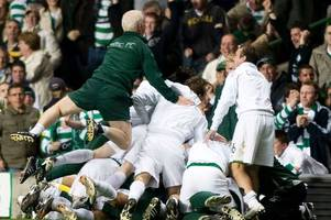 seeing celtic legend tommy burns jump on us as we celebrated spartak moscow victory is my greatest european memory