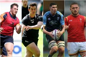 the 12 terrifically talented young welsh rugby players who could make big headlines in the season ahead