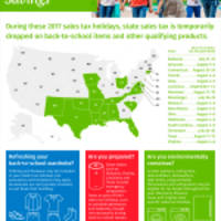 MEDIA ALERT: Sixteen States Offer Back-to-School Shoppers Tax-free Savings with Sales Tax Holidays