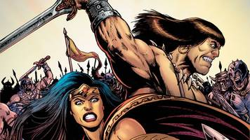 Wonder Woman/Conan crossover scribe promises blood, dust and brand new villains