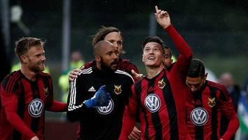 europa league: ostersunds' jamie hopcutt on goals, jamie vardy and swan lake