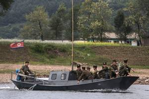 China Strengthens Defenses on North Korea Border in Anticipation of Crisis