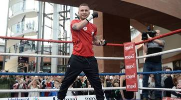 carl frampton: 'lose gutierrez fight and my career could be over'