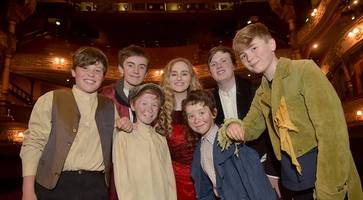 watch: young talent stage oliver! for belfast grand opera house summer youth project